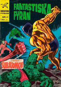 Cover Thumbnail for Fantastiska fyran (Williams Förlags AB, 1967 series) #18
