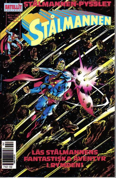 Cover for Stålmannen (SatellitFörlaget, 1988 series) #2/1991