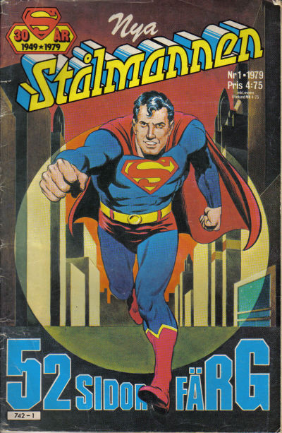 Cover for Stålmannen (Semic, 1976 series) #1/1979
