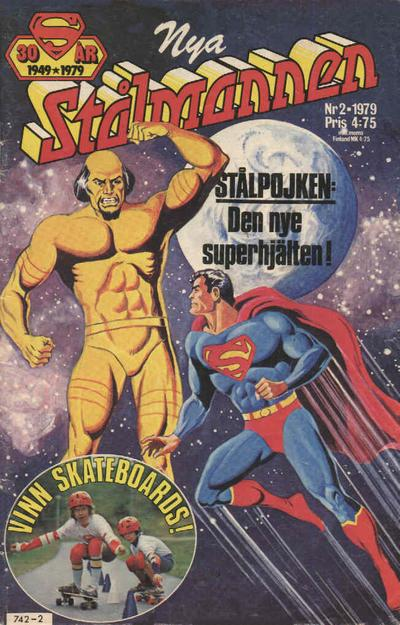 Cover for Stålmannen (Semic, 1976 series) #2/1979