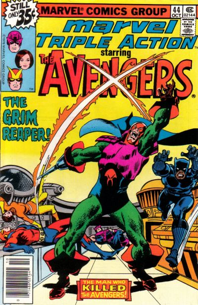 Cover for Marvel Triple Action (Marvel, 1972 series) #44