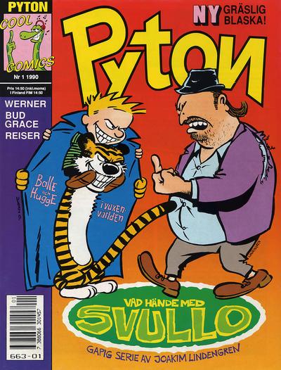 Cover for Pyton (Atlantic Förlags AB, 1990 series) #1/1990