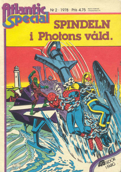 Cover for Atlantic special (Atlantic Förlags AB, 1978 series) #2/1978