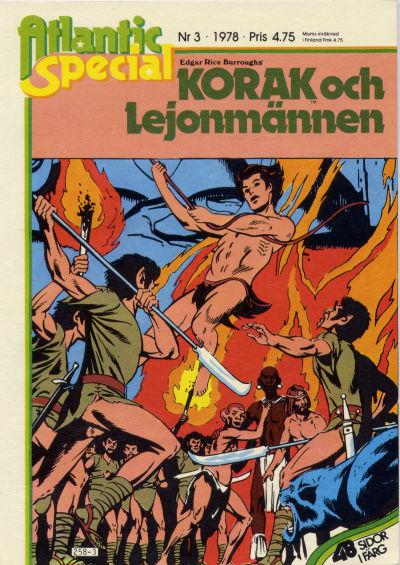 Cover for Atlantic special (Atlantic Förlags AB, 1978 series) #3