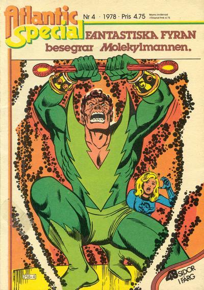 Cover for Atlantic special (Atlantic Förlags AB, 1978 series) #4/1978
