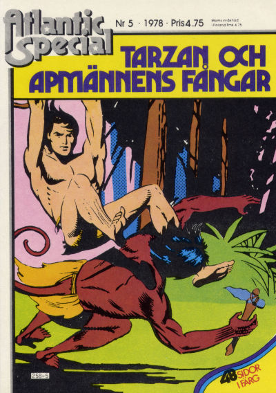 Cover for Atlantic special (Atlantic Förlags AB, 1978 series) #5