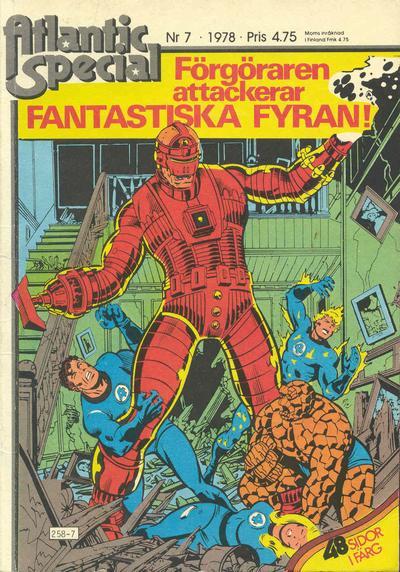 Cover for Atlantic special (Atlantic Förlags AB, 1978 series) #7/1978