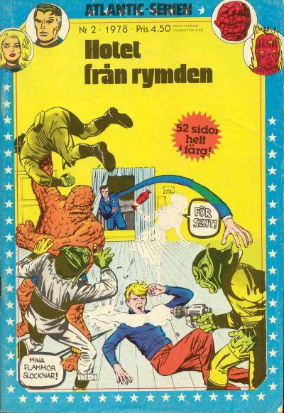 Cover for Atlanticserien (Atlantic Förlags AB, 1978 series) #2/1978