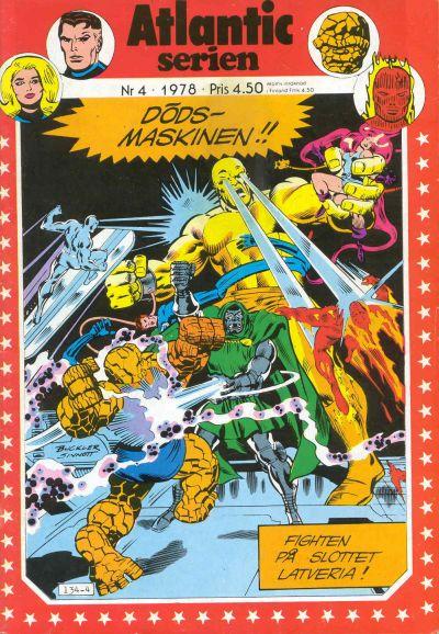 Cover for Atlanticserien (Atlantic Förlags AB, 1978 series) #4/1978