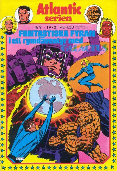 Cover for Atlanticserien (Atlantic Förlags AB, 1978 series) #9/1978