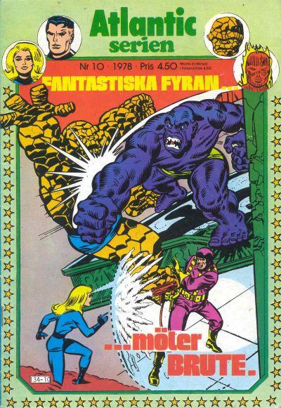 Cover for Atlanticserien (Atlantic Förlags AB, 1978 series) #10/1978