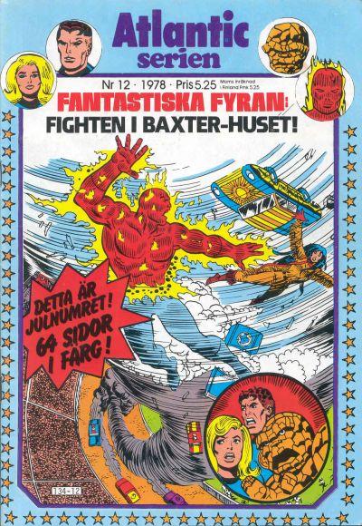 Cover for Atlanticserien (Atlantic Förlags AB, 1978 series) #12/1978