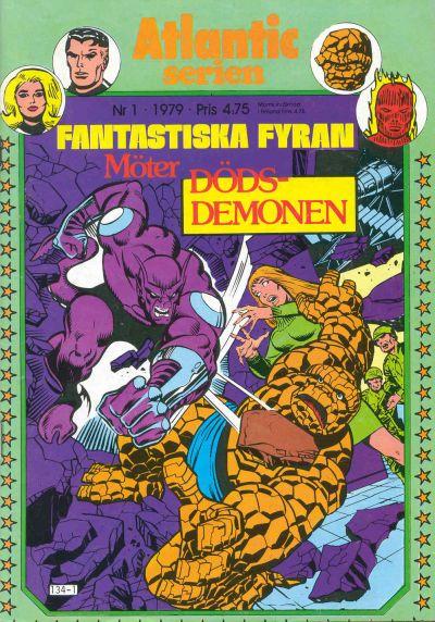Cover for Atlanticserien (Atlantic Förlags AB, 1978 series) #1/1979