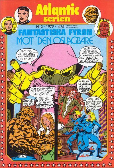 Cover for Atlanticserien (Atlantic Förlags AB, 1978 series) #2/1979