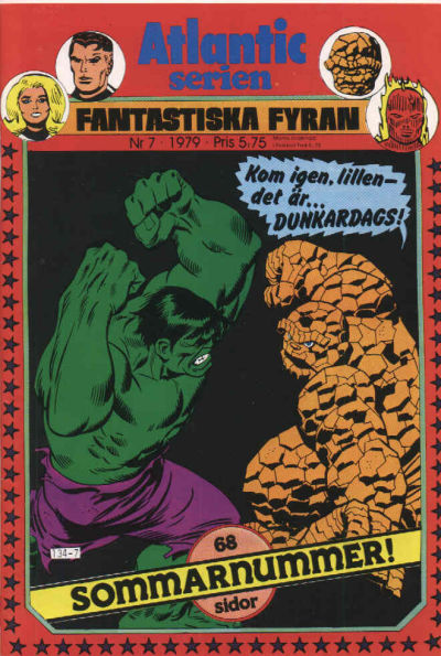 Cover for Atlanticserien (Atlantic Förlags AB, 1978 series) #7/1979