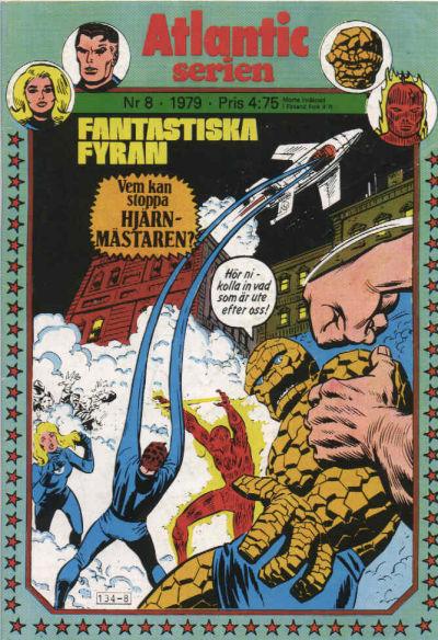 Cover for Atlanticserien (Atlantic Förlags AB, 1978 series) #8/1979