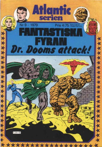 Cover for Atlanticserien (Atlantic Förlags AB, 1978 series) #9/1979