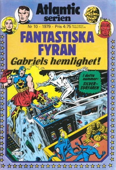 Cover for Atlanticserien (Atlantic Förlags AB, 1978 series) #10/1979