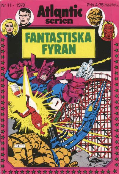 Cover for Atlanticserien (Atlantic Förlags AB, 1978 series) #11/1979