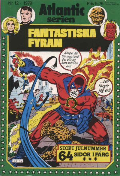 Cover for Atlanticserien (Atlantic Förlags AB, 1978 series) #12/1979