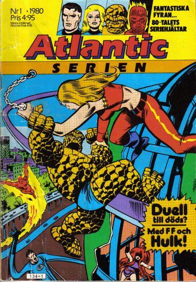 Cover for Atlanticserien (Atlantic Förlags AB, 1978 series) #1/1980