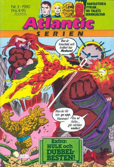 Cover for Atlanticserien (Atlantic Förlags AB, 1978 series) #3/1980