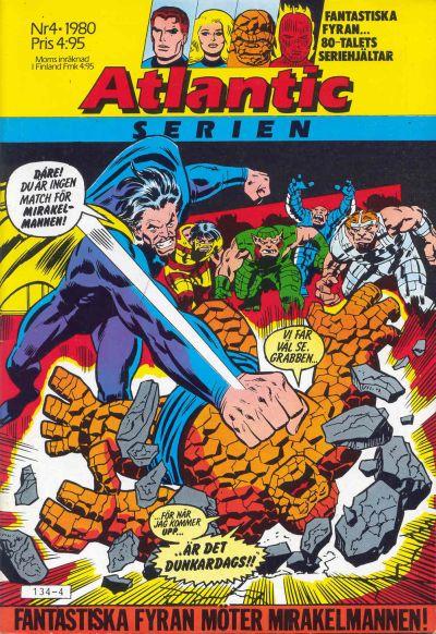 Cover for Atlanticserien (Atlantic Förlags AB, 1978 series) #4/1980