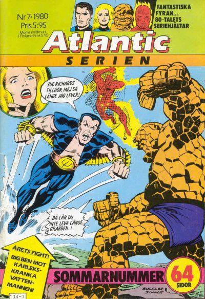 Cover for Atlanticserien (Atlantic Förlags AB, 1978 series) #7/1980