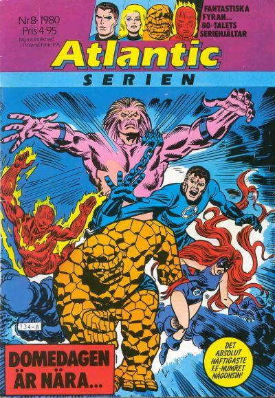 Cover for Atlanticserien (Atlantic Förlags AB, 1978 series) #8/1980