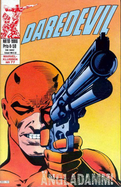 Cover for Daredevil (Semic, 1986 series) #10/1986