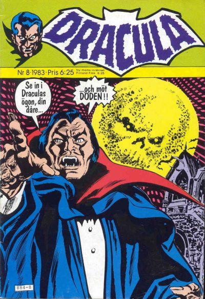 Cover for Dracula (Atlantic Förlags AB, 1982 series) #8/1983