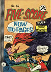 Cover for Five-Score Plus Comic Monthly (K. G. Murray, 1960 series) #36