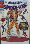 Cover for The Amazing Spider-Man (Marvel, 1963 series) #47 [British]
