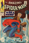 Cover for The Amazing Spider-Man (Marvel, 1963 series) #52 [British]