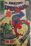 Cover for The Amazing Spider-Man (Marvel, 1963 series) #53 [British]