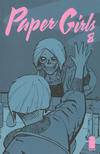 Cover for Paper Girls (Image, 2015 series) #8