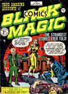 Cover for Black Magic Comics (Arnold Book Company, 1952 series) #1 [yellow box variant]