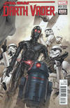 Cover for Darth Vader (Marvel, 2015 series) #13 [Incentive Clay Mann Connecting Cover B Variant]