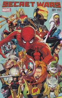 Cover Thumbnail for Secret Wars (Marvel, 2015 series) #1 [Dynamic Forces Greg Land Variant]