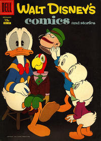 Cover Thumbnail for Walt Disney's Comics and Stories (Dell, 1940 series) #v18#3 (207) [15¢]