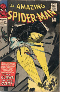 Cover Thumbnail for The Amazing Spider-Man (Marvel, 1963 series) #30 [British]