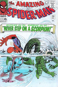 Cover Thumbnail for The Amazing Spider-Man (Marvel, 1963 series) #29 [British]