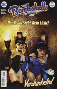 Cover Thumbnail for DC Comics: Bombshells (DC, 2015 series) #16