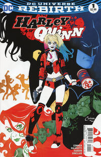 Cover Thumbnail for Harley Quinn (DC, 2016 series) #1 [Amanda Conner Cover]