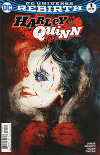 Cover Thumbnail for Harley Quinn (DC, 2016 series) #1 [Incentive Bill Sienkiewicz Variant]