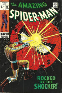 Cover Thumbnail for The Amazing Spider-Man (Marvel, 1963 series) #72 [British]