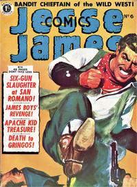 Cover Thumbnail for Jesse James Comics (Thorpe & Porter, 1952 series) #6