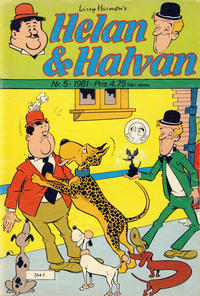 Cover Thumbnail for Helan & Halvan [Helan og Halvan] (Atlantic Forlag, 1978 series) #5/1981
