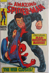 Cover Thumbnail for The Amazing Spider-Man (Marvel, 1963 series) #73 [British]