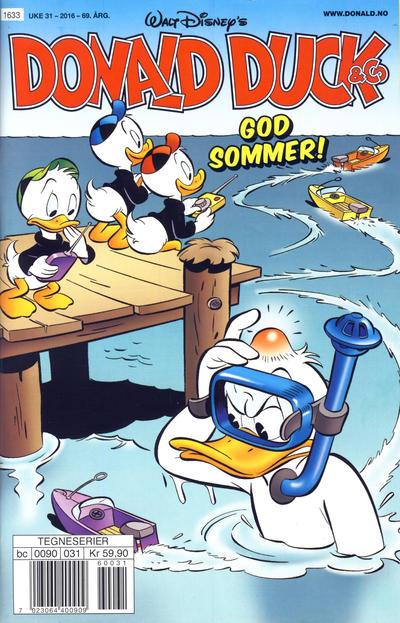 Cover for Donald Duck & Co (Hjemmet / Egmont, 1948 series) #31/2016